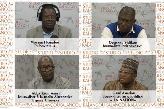 Les journalistes invités au forum de la presse du vendredi 15 octobre 2021.
