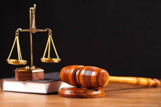 Logo de la justice en image d'illustration
