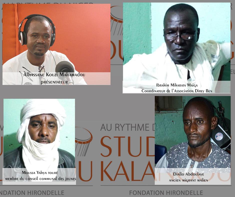 Forum du 13 novembre réalisé à la radio ''Fitila'' de Gao au Mali – «La migration irrégulière vers l'Europe : causes, conséquences et solutions»