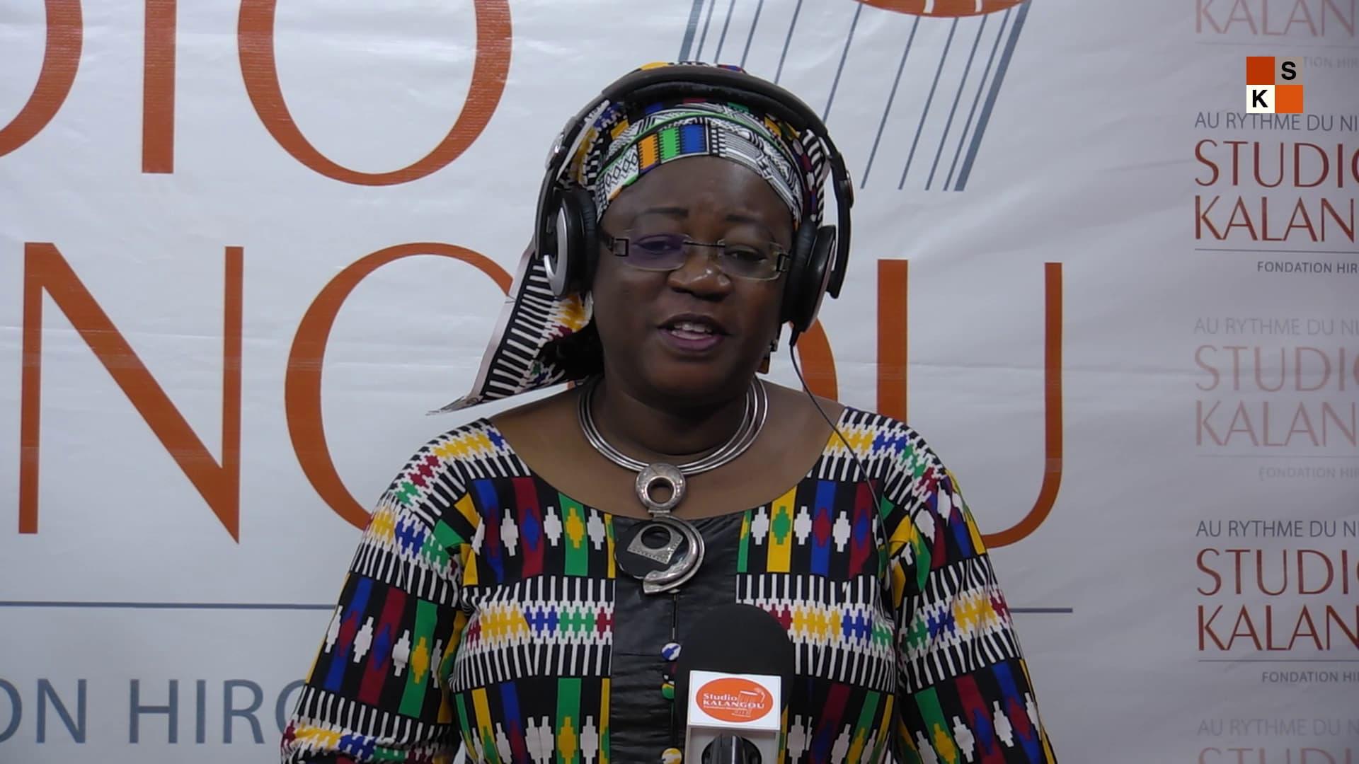 Aïchatou Ali Soumaïla, invitée de l'émission «Covid-19, l'artiste s'exprime»