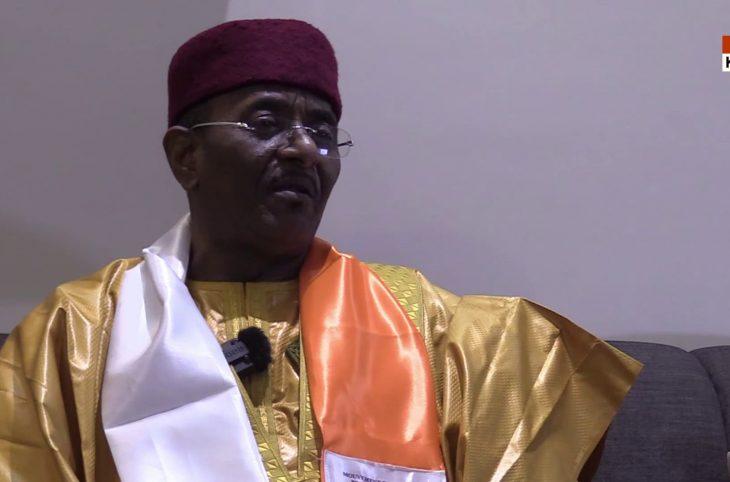 Albadé Abouba, candidat du Mouvement Patriotique pour la République (MPR-Jamhuriya).