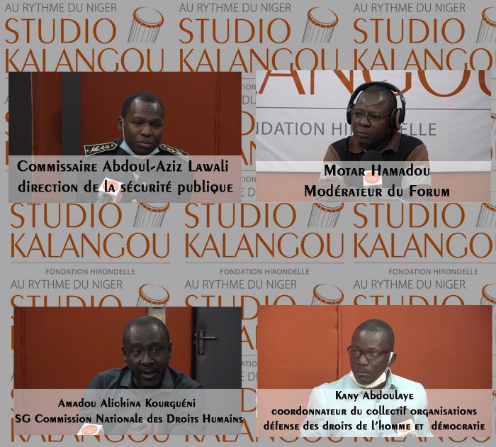 « Quelles voies de recours pour les populations contre les abus des forces de sécurité au Niger ?»