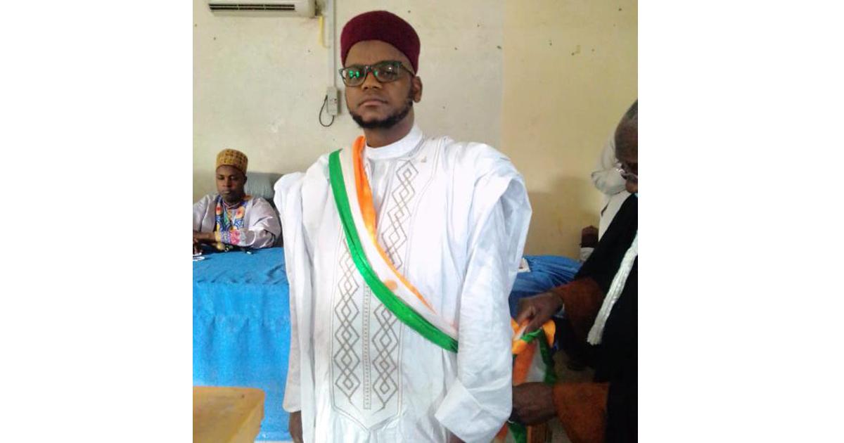Laouali Inoussa, jeune maire de Tessaoua