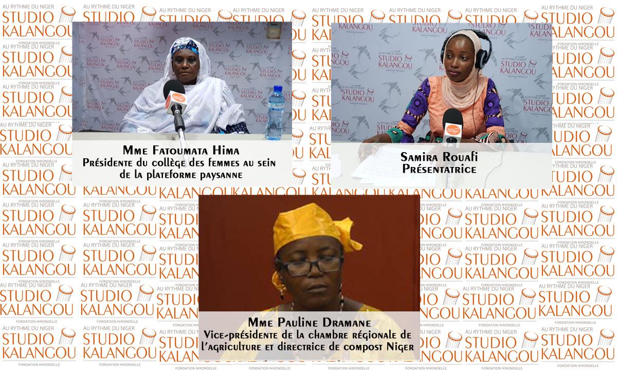 Quelle place occupe la femme nigérienne dans le secteur de l'agriculture?