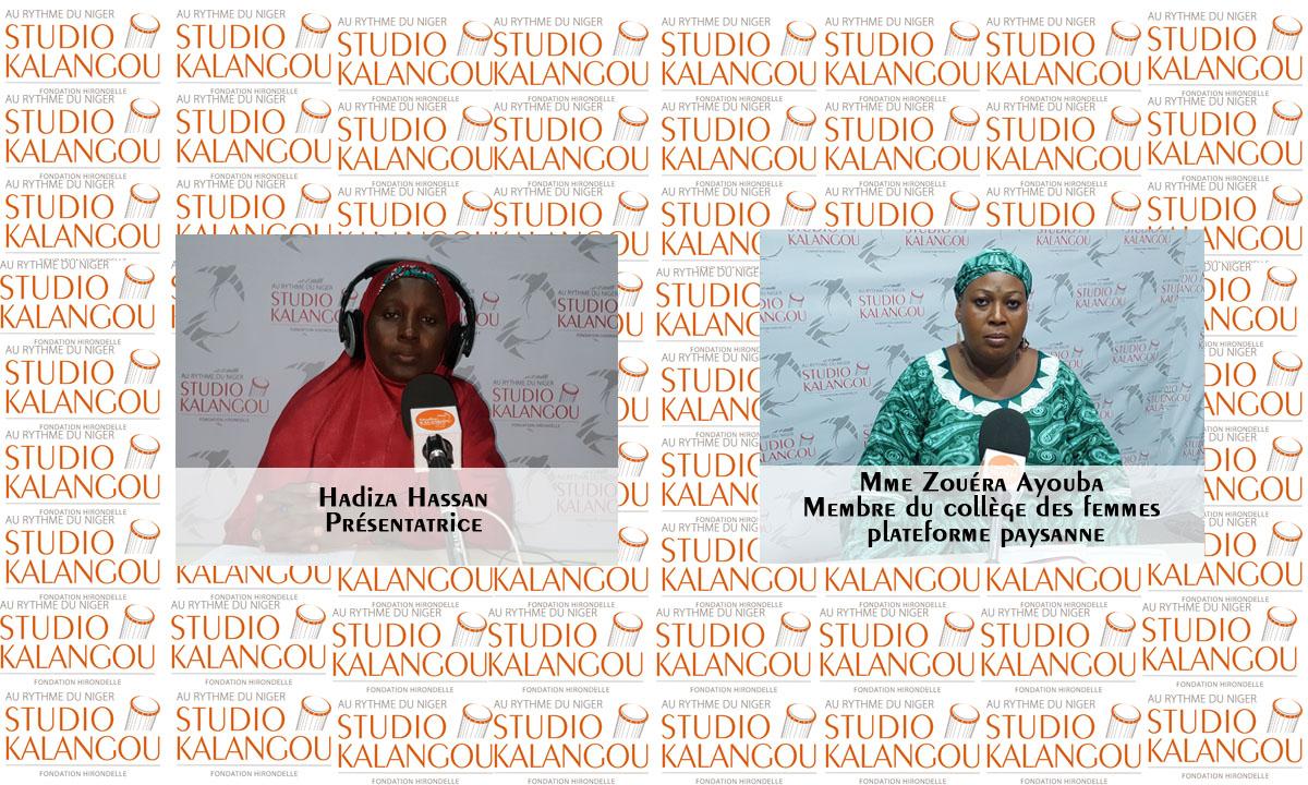 Quelle place occupe la femme nigérienne dans le secteur de l'agriculture ?