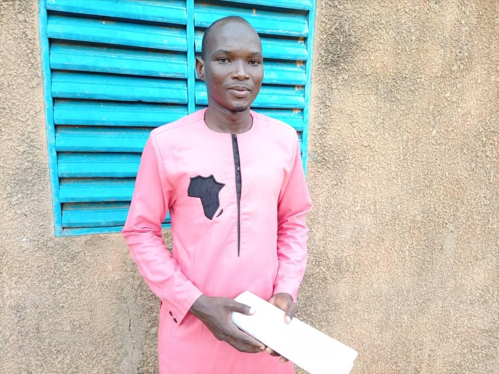 Portait de Sani Madougou Bonto, jeune volontaire de Gaya