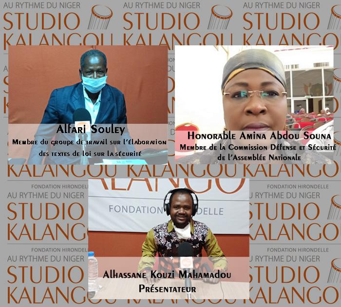 Processus d'élaboration et d'adoption de textes de loi sur la sécurité intérieure au Niger.