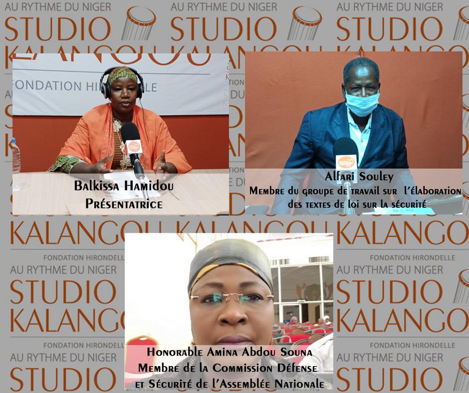 Processus d'élaboration et d'adoption de texte de loi sur la sécurité intérieure au Niger