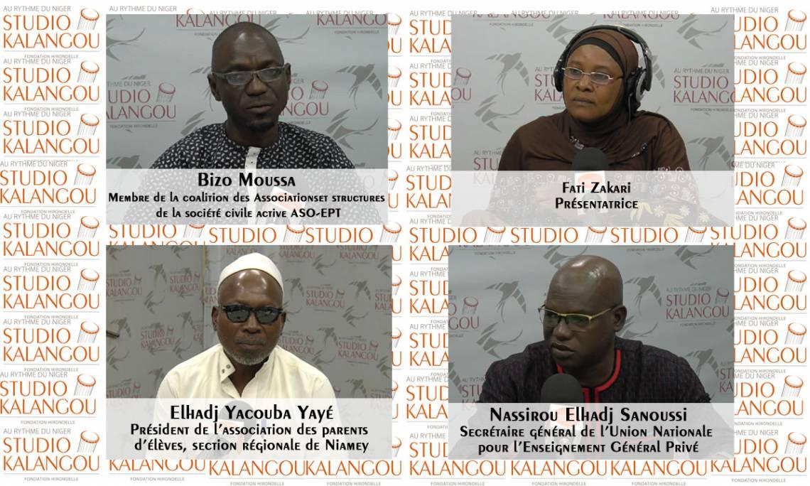 [Rediffusion] La règlementation des frais de scolarité dans les établissements privés au Niger