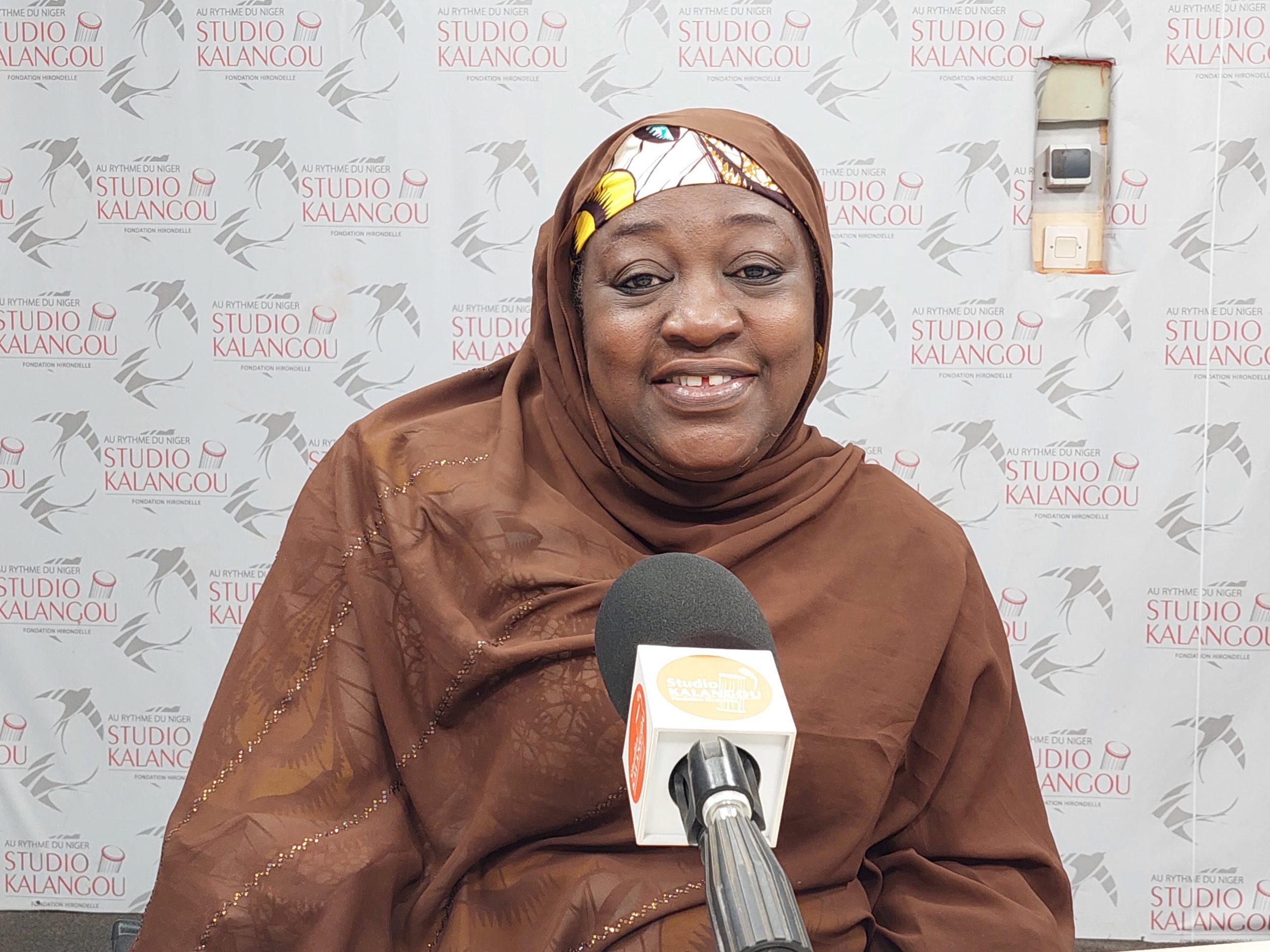 Visite au Niger de Amina Kazauré membre du NIREC Nigeria