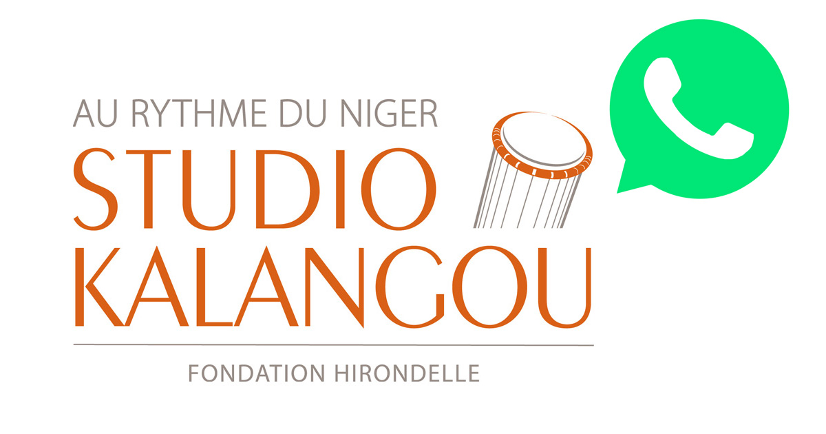 Écoutez les programmes de « Studio Kalangou » sur l'application WhatsApp